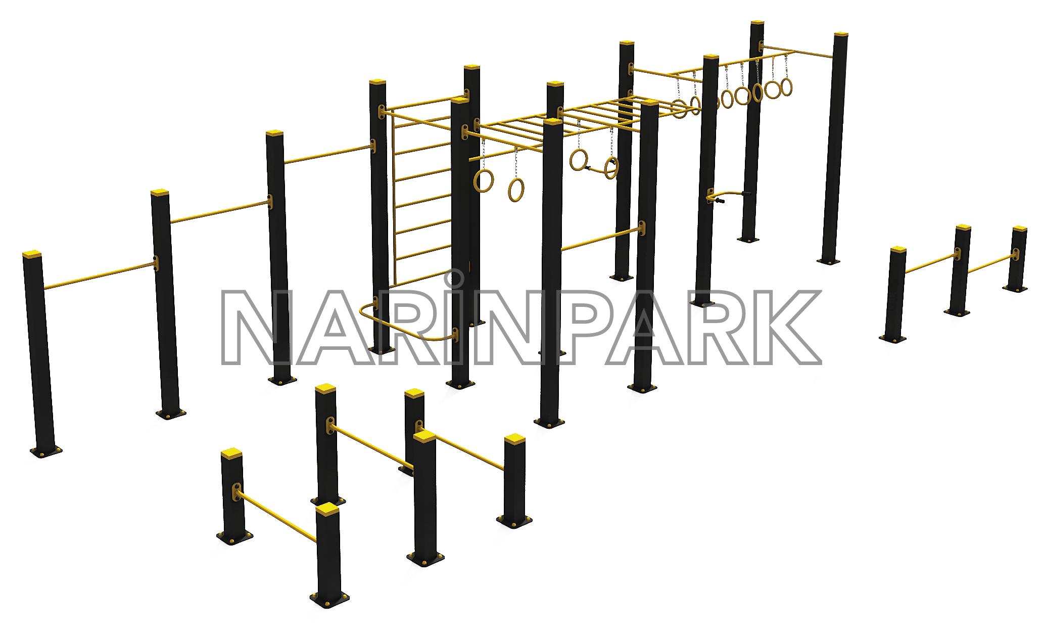 Kombine Fitness NPFP2403