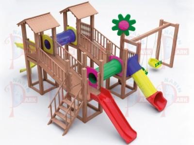 Ahşap Oyun Parkları
